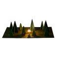 Kraul - 7100 - einfaches Waldschattenspiel