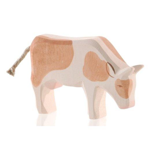 Ostheimer - 11023 - Kuh braun fressend