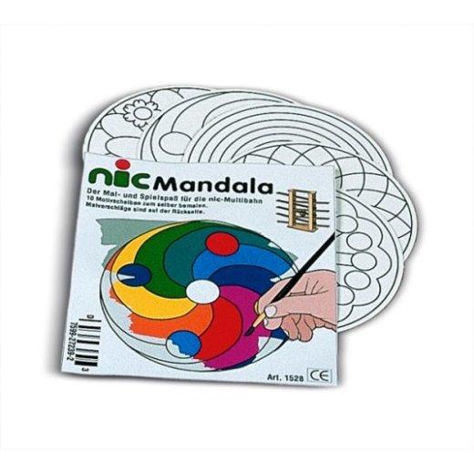 nic - 1643 - Mandala (Set 10 Stück) - bald ausverkauft