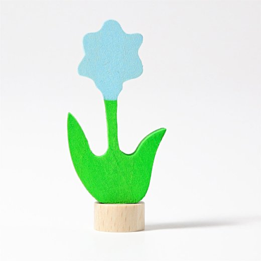 Grimms - 03610 - Stecker Blume, blau