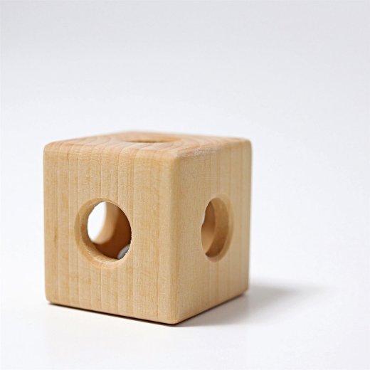 Grimms - 08070 - Rassel Würfel mit Glocke