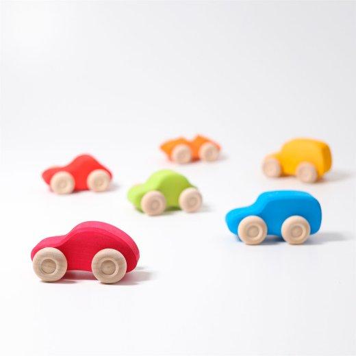 Grimms - 09310 - 6 Autos, bunt