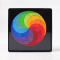 Grimms - 91020 - Magnetpuzzle Kreis Farbspirale