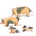 Ostheimer - 1095 - Schweinegr. gefleckt 4-tlg.