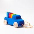 Grimms - 09040 - Blauer Lastwagen zum Nachziehen