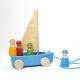 Grimms - 9316 - 4 Kleine Strandsegler im Set