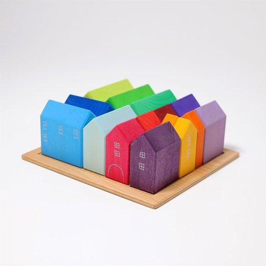 Grimms - 10176 - Kleine Häuser, handbemalt