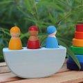 Grimms - 7511 - Drei Freunde im Boot, bunt