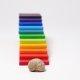 Grimms - 10668 - Regenbogen Bauplatten