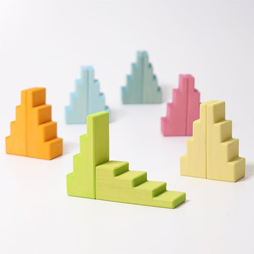 Grimms - 42097 - Treppendächer Pastell
