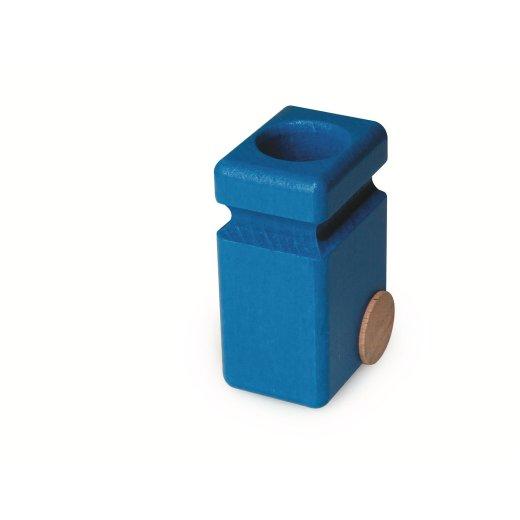Fagus - 20.83 - Mülltonnen für Müllkipper, blau  VE2
