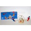 Kraul - 7502 - Lichtwippe mit Püppchen, Bausatz mit rot-blauen Püppchen