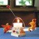 Kraul - 7503 - Lichtwippe mit Püppchen, Bausatz mit gelb-orangenen Püppchen